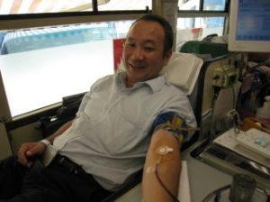 伊万里ライオンズクラブ活動内容。献血推進運動の様子