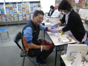伊万里ライオンズクラブの活動内容。献血推進運動